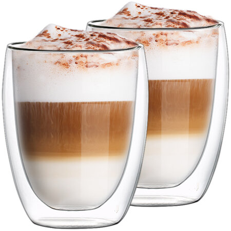 2x Termo pohár na latté Hot&Cool 350 ml